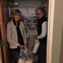 brehon-family-services-volunteers-filling-supply-closet