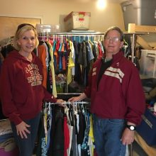 brehon-family-services-volunteers-organizing-clothes