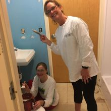 brehon-family-services-volunteers-painting